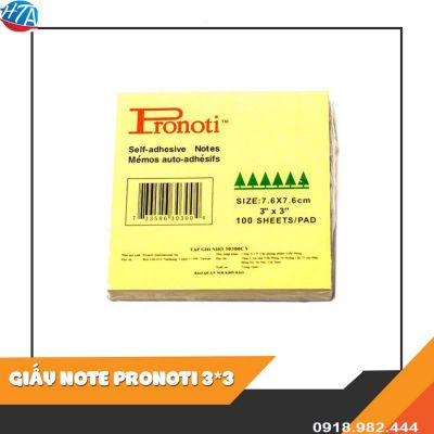 Giấy Note Pronoti 3x3