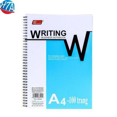 Sổ Lò Xo A4 Pgrand loại 1 -mỏng 100 trang (12 quyển/lốc)