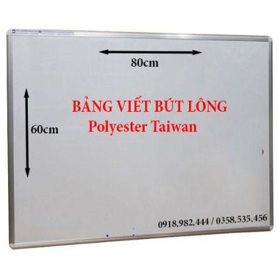 Bảng viết bút lông Polyester Taiwan (40x60)