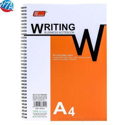 Sổ lò xo A4 Pgrand loại 1-dày 200 trang (6 quyển/lốc)