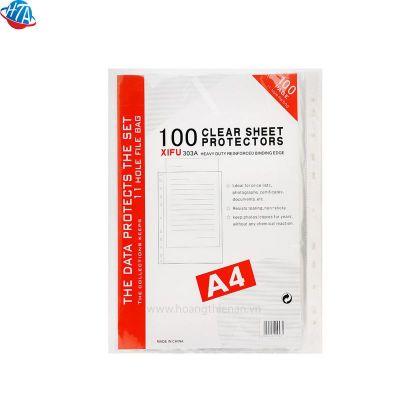 Bìa lỗ A4 VN mỏng 320 (100 cái/xấp)