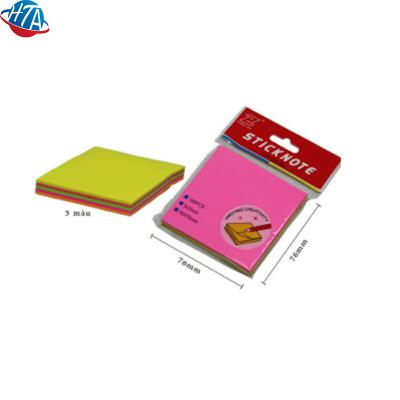 Note giấy GS-04 (5 màu 5 lớp 76x76mm)