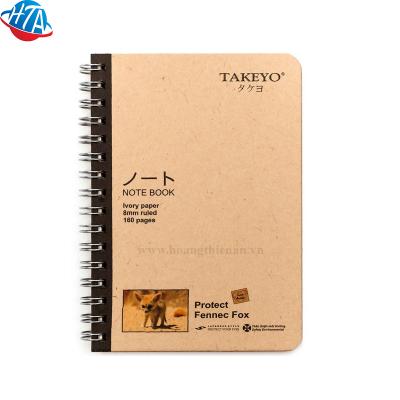Sổ lò xo Takeyo A6-8534 160 trang