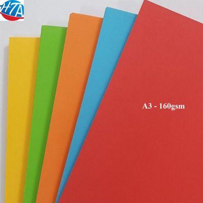 Giấy màu đặc biệt A3 160gsm Pgrand (500 tờ/ream/màu)