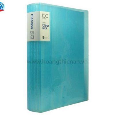 Bìa nhựa 100 lá Clear book VC