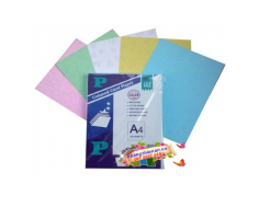 Giấy bìa màu thơm Thái Lan mỏng A4 (250 tờ/xấp)