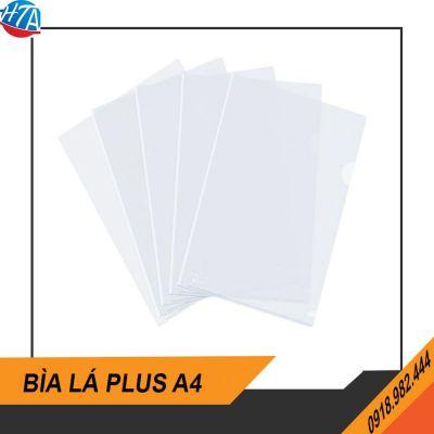 Bìa lá Plus A4 (100 cái/xấp)