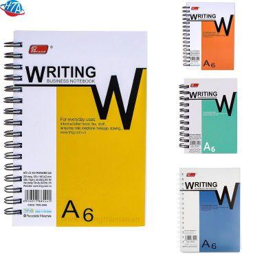 Sổ lò xo A6 Pgrand loại 1 dày 200 trang (6 quyển/lốc)